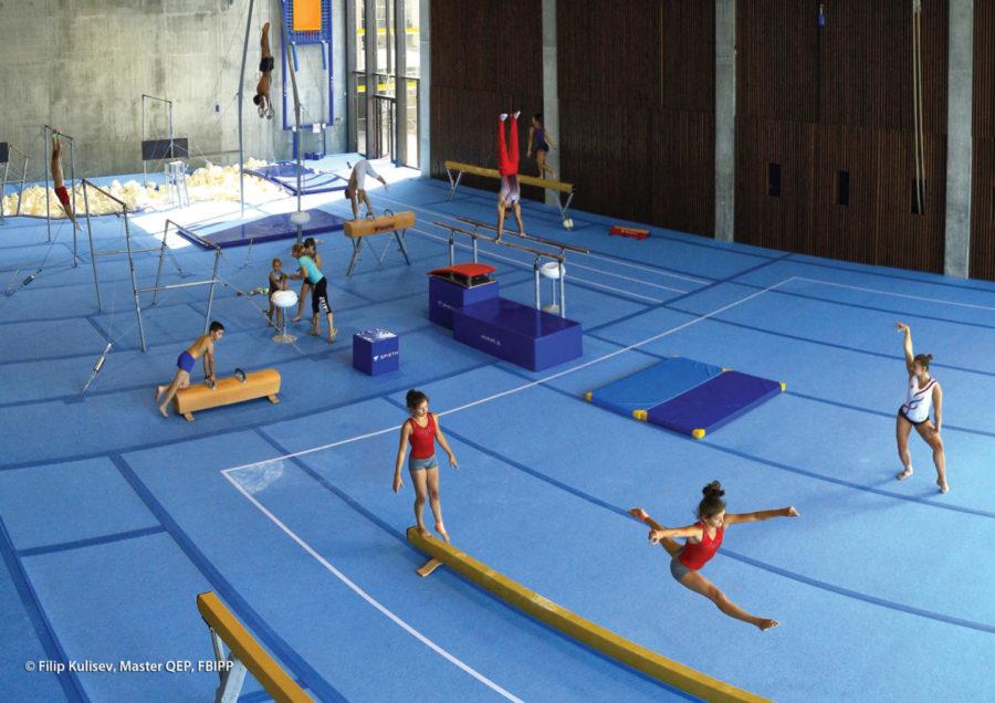 Gymnastická hala
