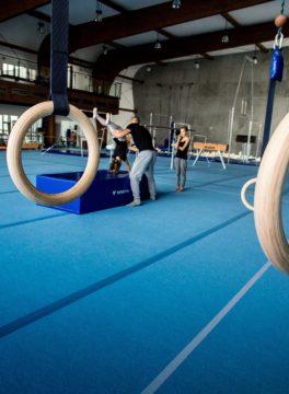 športový gymnastický tábor