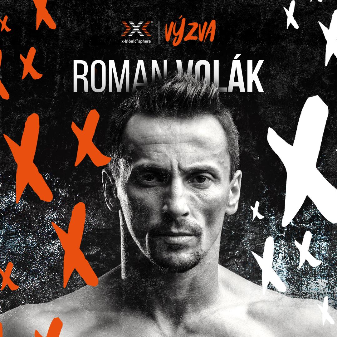 x-bionic sphere výzva s Romanom Volákom