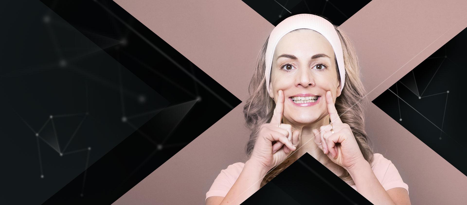 Deň žien a tvárová gymnastika v Gym