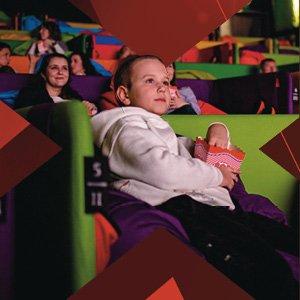 Pozeranie filmov a rozprávok v Tuli Cinema
