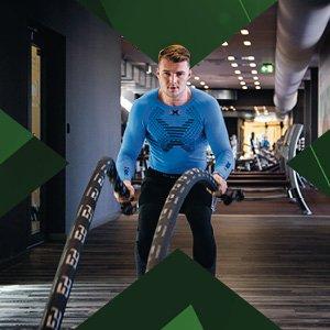 Cvičenie v Gym v x-bionic sphere